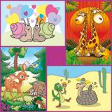 Dieren illustraties