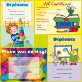 Diploma's/getuigschriften