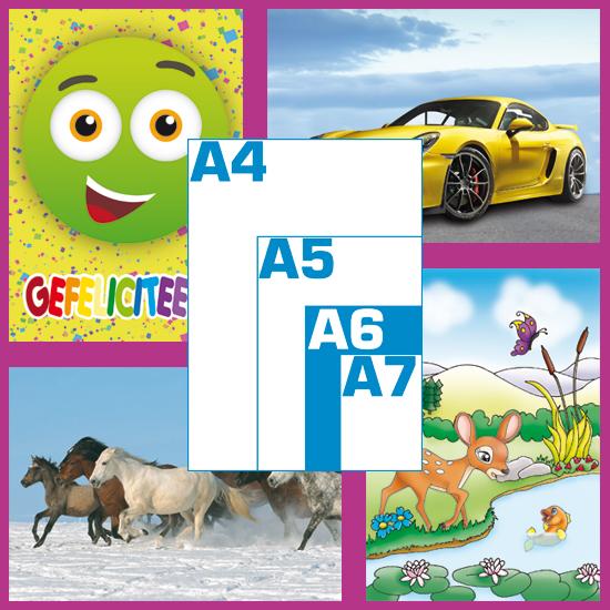 Ansichtkaarten (A6)