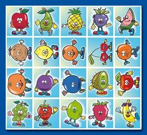 Serie 40 - fruitjes