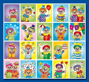 Serie 54 - clowns
