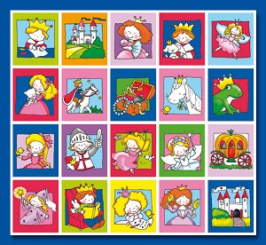 Serie 73 - prinsen en prinsessen
