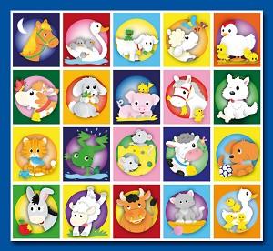 Serie 83 - get.lieve boerderij dieren