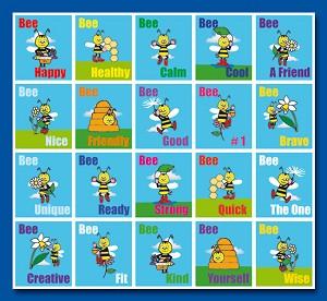 Serie 93 - bee happy