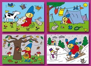 Serie 2011 - pompom (80 kaarten)