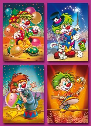 Serie 2062 - clowns