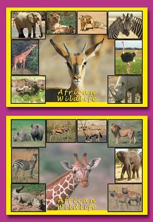 Serie 4133 - African wildlife