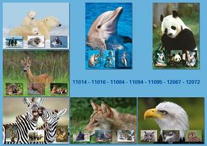 Serie 15011 - bos- en wilde dieren