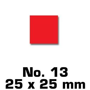 Vierkant 25 mm