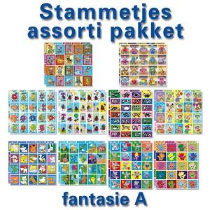 Stickerpakket Fantasie A