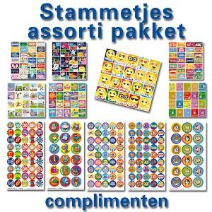 Stickerpakket Complimenten