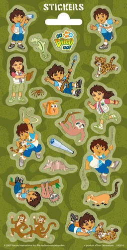 Stickers serie 31/3 - Diego twinkle
